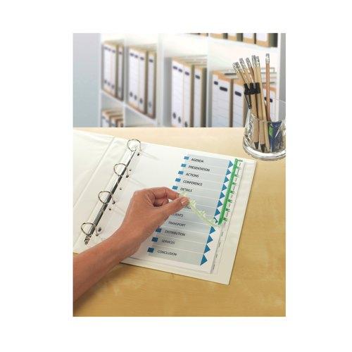 Avery IndexMaker Divider Set Punched 10-Part FSC Mix 70% BV-COC-008800 Ref 01812061