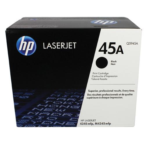 HP Toner Cartridge 45A Black Ref Q5945A 18K