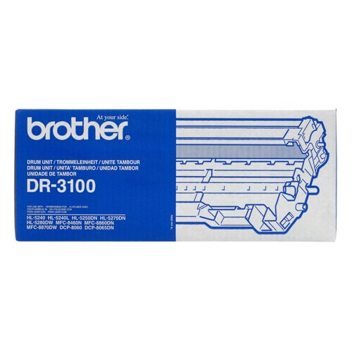 Brother DR3100 Laser Drum Cartridge Black Ref DR-3100 Each