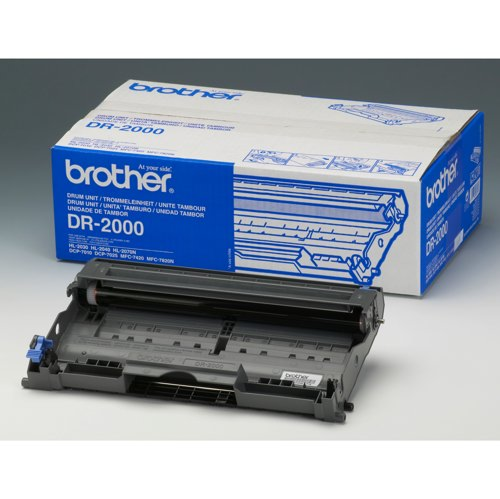 Brother DR-2000 Laser Drum Cartridge Ref DR-2000 Each