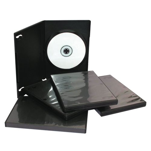 DVD Storage Case Pack 5 Black OWNBAN-0988554