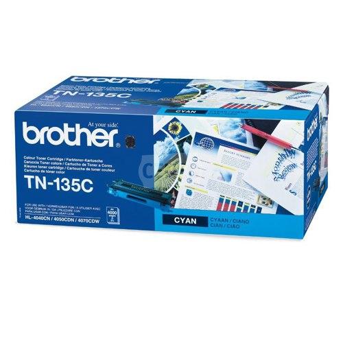 Brother Laser Toner High Yield Cartridge Cyan Ref TN-135C Each