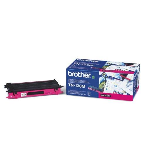 Brother Laser Toner Cartridge Magenta Ref TN130M Each