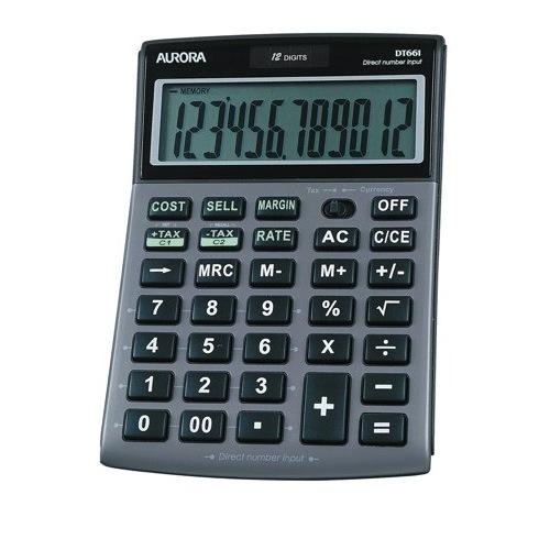 Aurora Calculator Desktop DT661 12 Digit Ref DT661 Each
