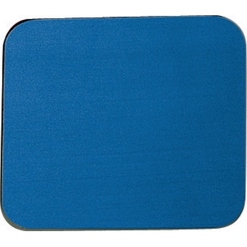 Fellowes Economy Mouse Mat Rubber Sponge Backed and Non-Slip Base Blue Ref 29700 Each