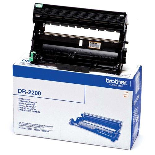 Brother HL-2240/D/2250DN/2270DW Drum Unit 12K Ref DR2200 Each