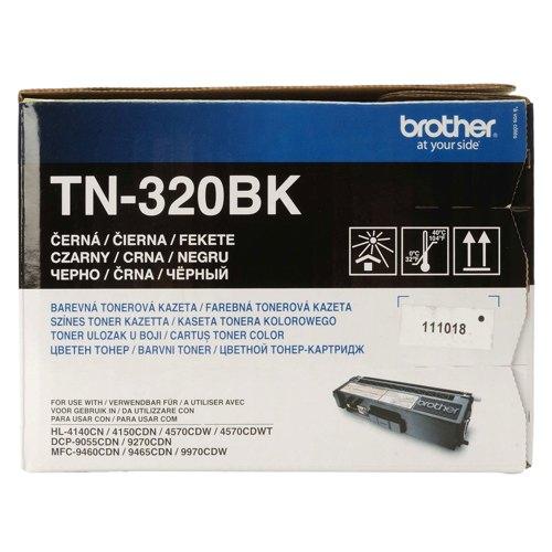 Brother Toner Cartridge Black Ref TN320BK Each