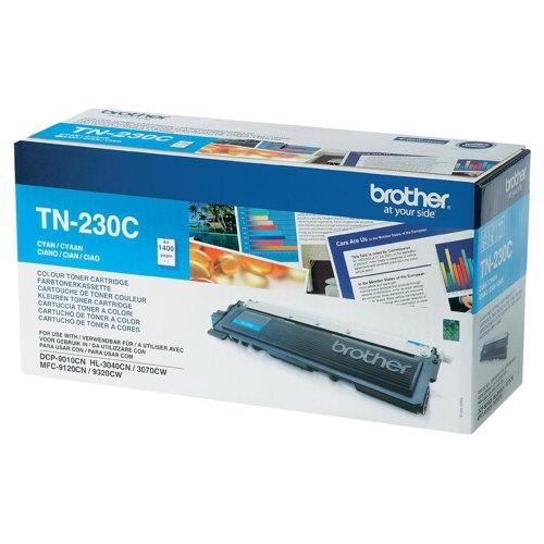 Brother TN-230C Laser Toner Cartridge Cyan Ref TN230C Each