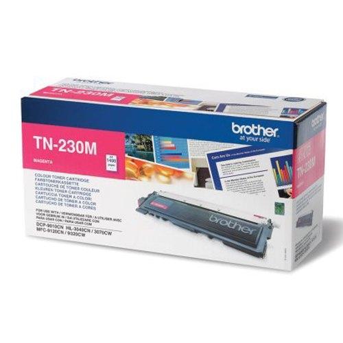 Brother TN-230M Laser Toner Cartridge Magenta Ref TN230M Each