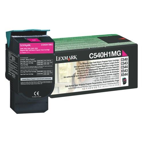 Lexmark Toner Cartridge Magenta Ref C540H1MG