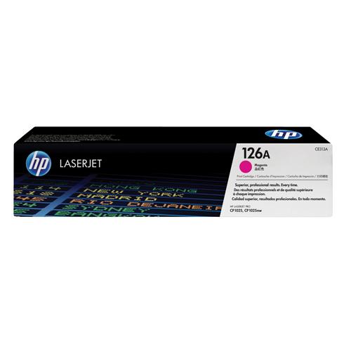 HP Toner Cartridge 126A Magenta Ref CE313A 1K