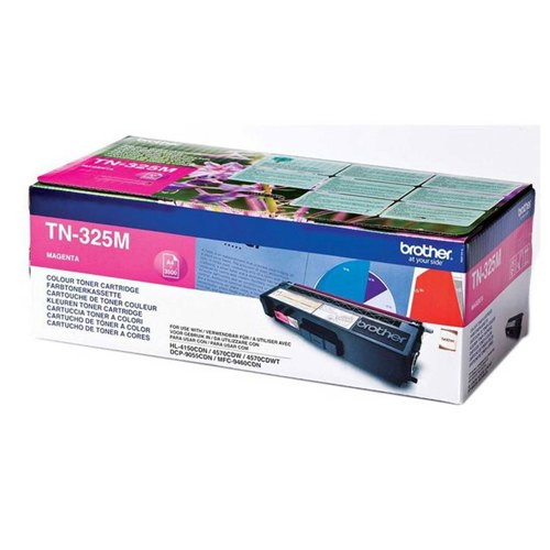 Brother Laser Toner Cartridge Page Life 3500pp Magenta Ref TN325M Each