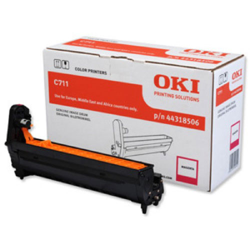 Oki C711 Drum Unit Magenta Code 44318506 Each