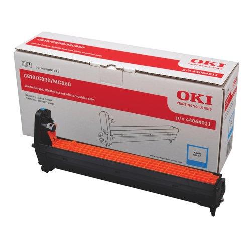 Oki C810/C830 Drum Unit Cyan Ref 44064011 Each