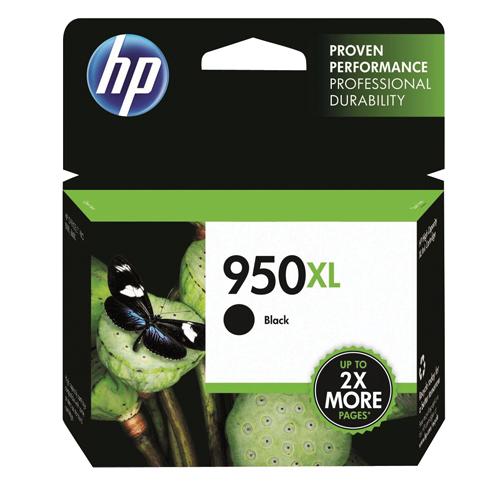 HP Black No.950XL Ink Cartridge REF CN045AE