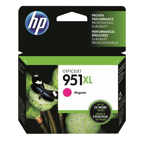 HP Inkjet Cartridge No.951XL Magenta Ref CN047AE