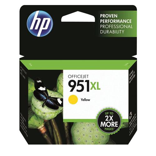 HP Inkjet Cartridge No.951XL Yellow Ref CN048AE