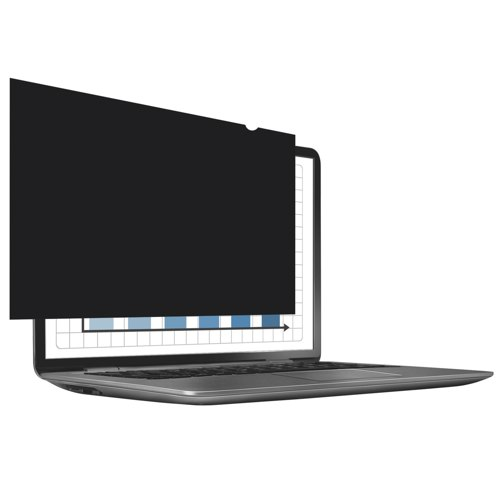 Fellowes Priva Screen Blackout Privacy Filter 14 Inch Wide Screen Ref 4812001