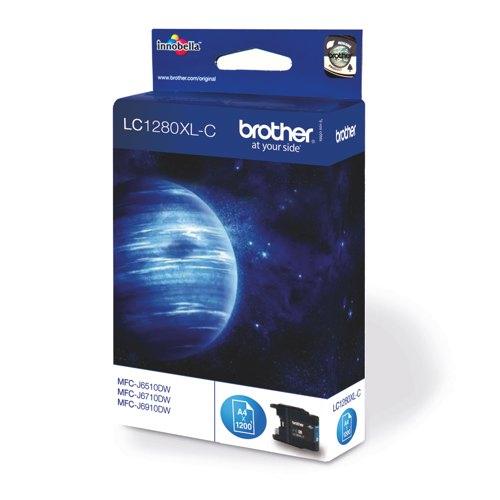 Brother Inkjet Cartridge Cyan LC1280XLC