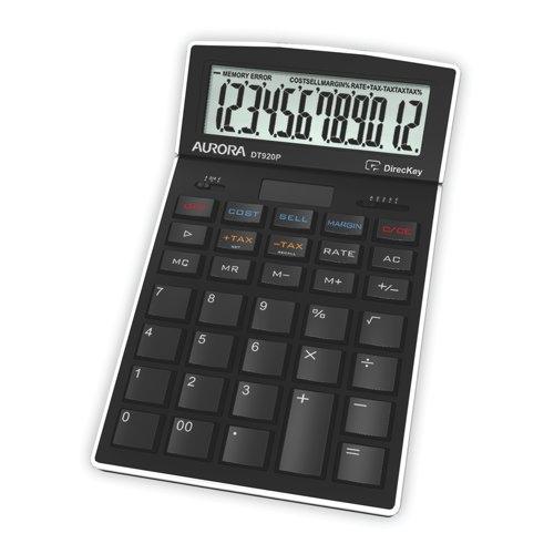 Aurora Calculator Desk 12 Digit DT920P Ref DT920P Each