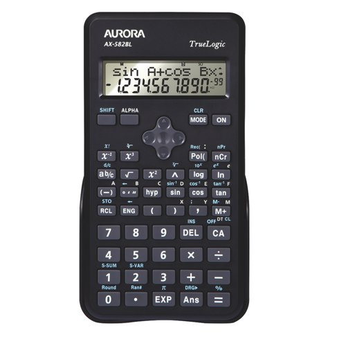 Aurora Scientific Calculator AX582BL Ref AX582BL