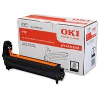 Oki C711 Drum Unit Black Code 44318508 Each