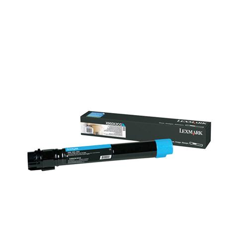 Lexmark Toner Cartridge Cyan Ref X950X2CG