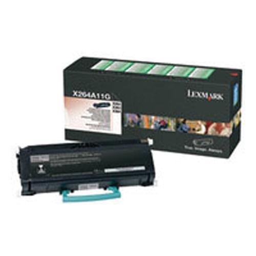 Lexmark Toner Cartridge Black Ref X264A11G 3.5K