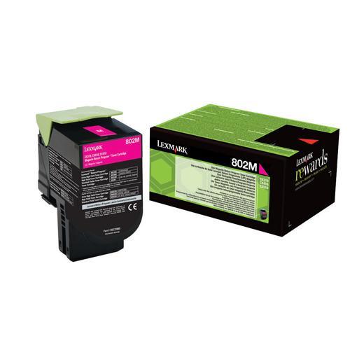 Lexmark Toner Cartridge Magenta Ref 80C20M0 1K
