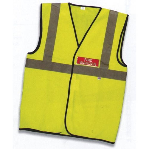 FSMISC Guardian Fire Warden Vest X Large Yellow Ref IVGSFVW Each