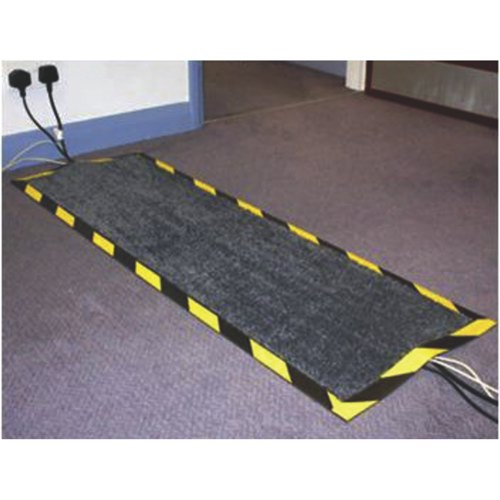 Doortex Kable Mat Charcoal Grey Ref FCKAB40120