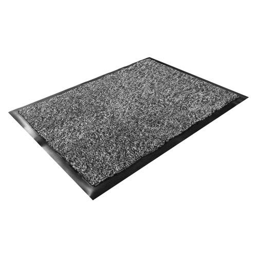 Doortex Dust Control Mats Black/White Ref 46090DCBWV