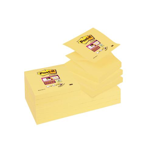 Post-it Super Sticky Z-Note 76x76mm Yellow R330-12SSCY