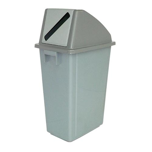 Waste Paper Gathering Bin B 58L Grey 383013