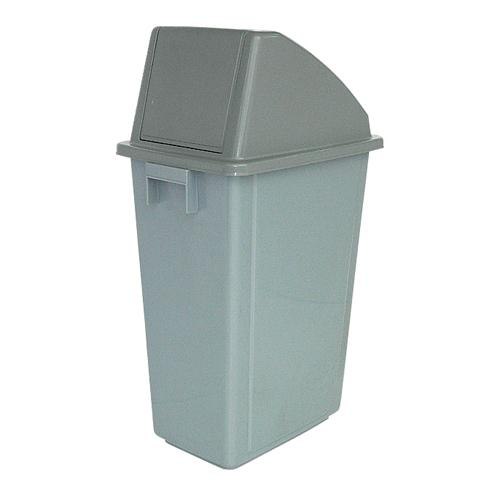 Turning Cover Gathering Bin 58L Grey 383015
