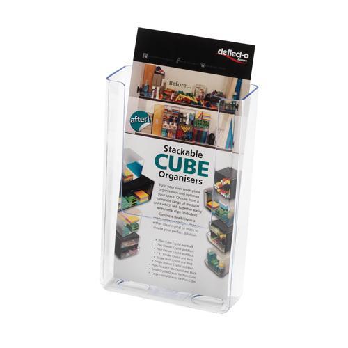 Deflecto Flat Back Literature Holder 1/3xA4/DL