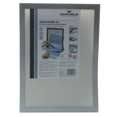 Durable Silver A4 Duraframe Pack of 2