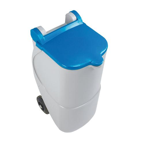 Recycling Wheelie Bin 90L Non-Locking Blue 314630