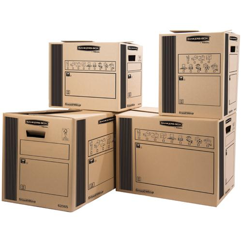 Bankers Box Classic Double Wall Cargo Box 400x320x320mm Pack of 10