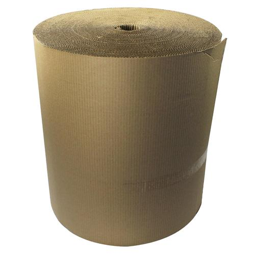 Corrugated Paper Roll 650mm x75m Recycled Kraft SFCP-0650