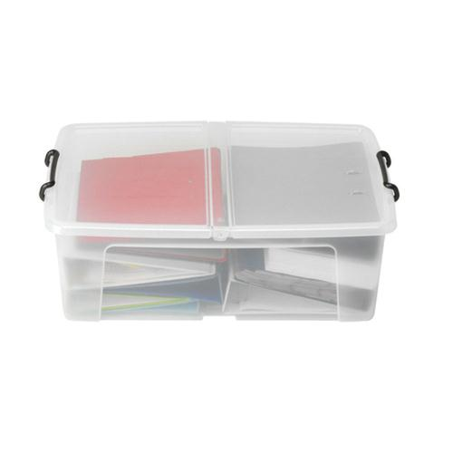 Strata Smart Storage Box 50L Clear (Pk 1) HW675