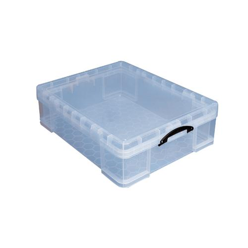 Really Useful 70Litre Box Clear