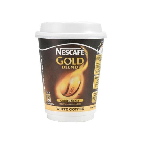 Nescafé and Go Gold Blend White Coffee Pack of 8 Cups