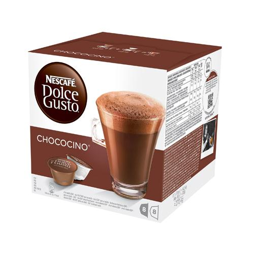 Nescafé Dolce Gusto Chococino Hot Chocolate Pack of 3 x 16 Capsules