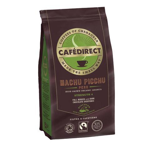 Café Direct Organic Ground Machu Picchu Coffee 227g
