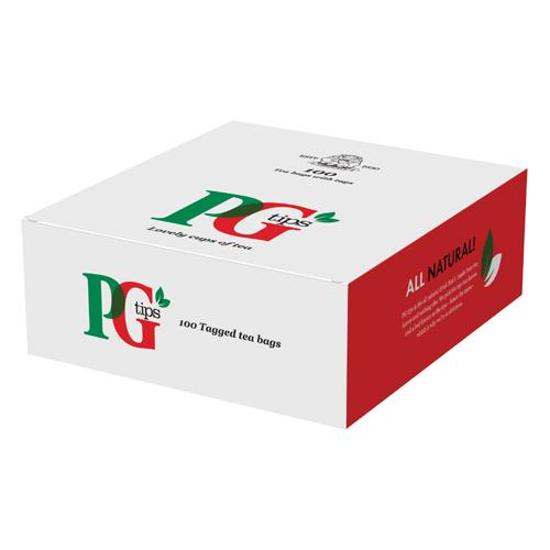 PG Tips Tagged Tea Bags Pack of 100