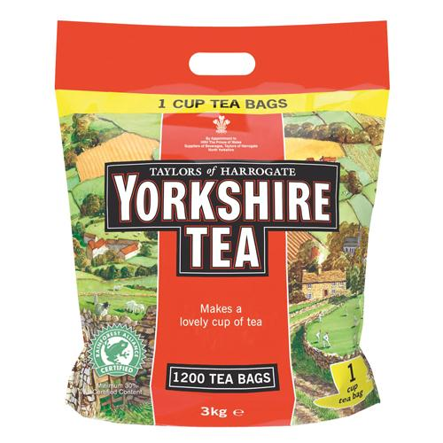 Yorkshire Tea One Cup Tea Bags Pack of 1200
