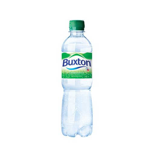 Buxton Sparkling Mineral Water 50cl Pack of 24 Bottles