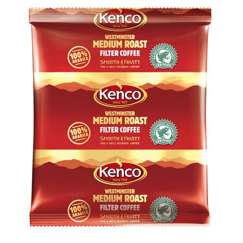 Kenco 3 Pint Westminster Filter Coffee Sachets Pack of 50