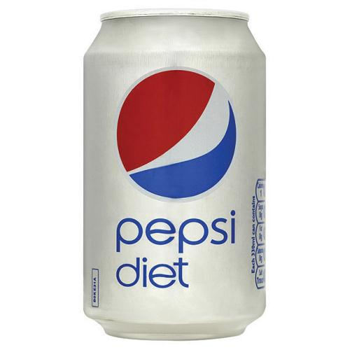Pepsi Diet 330ml Pack of 24 Cans